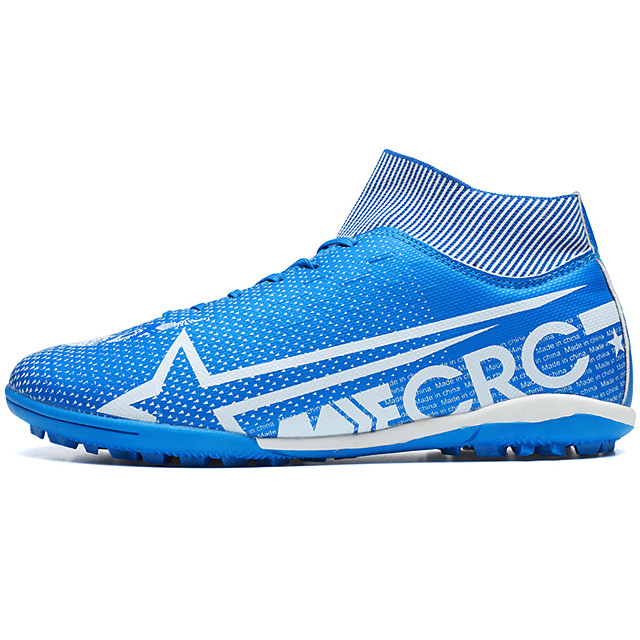 Men's Comfort Shoes Light Soles Spring & Summer / Fall & Winter Sporty / Casual Athletic Outdoor Trainers / Athletic Shoes Soccer Shoes PU Non-slipping White / Black / Blue