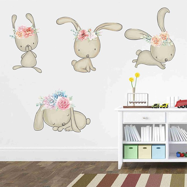 Decorative Wall Stickers - Plane Wall Stickers Animals Nursery / Kids Room