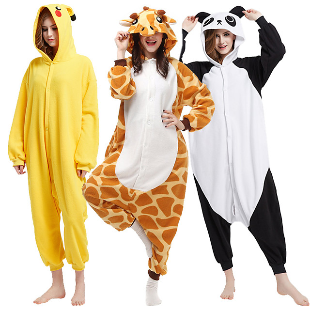 Markest Unisex Onesie for Adult and Teenagers Animal Brown Donkey Cosplay Costumes One Piece Pajama