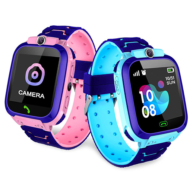 OEM Q12B Kids Kids' Watches WIFI Hands-Free Calls Smart Distance Tracking Activity Tracker Alarm Clock Calendar Dual Time Zones