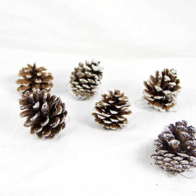 Christmas Decorations Christmas Party Supplies Christmas Tree Ornaments Lovely Adults' Boys' Girls' Toy Gift 6 pcs / 14 Years & Up