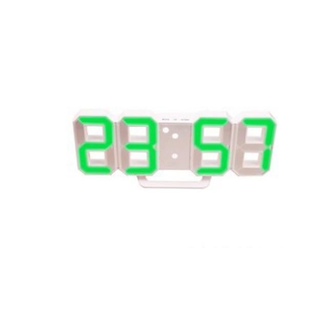 LED Digital Alarm Clock , Easy-Read Display, E,  Dual USB Charging Ports for Bedroom, Living Room, Office, Travel