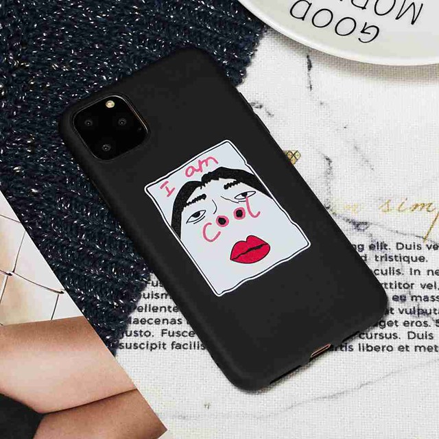 Case For Apple iPhone 11 / iPhone 11 Pro / iPhone 11 Pro Max Frosted / Pattern Back Cover Word / Phrase TPU