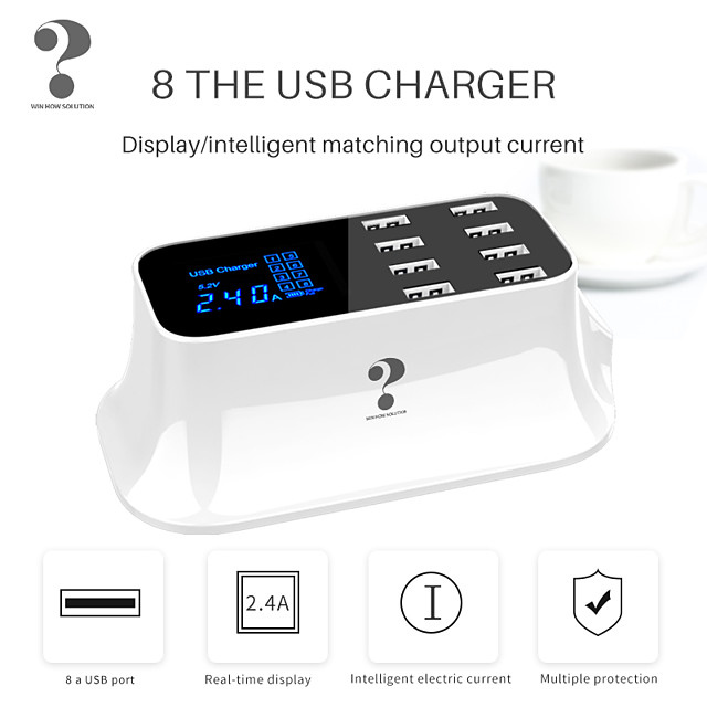 Fast Charger / Dock Charger / Home Charger Multi-Output Fast Charger ROHS