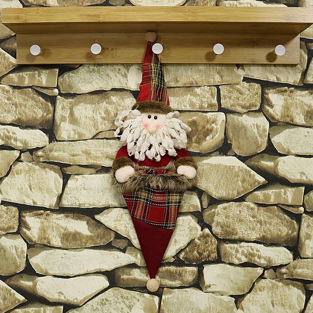 Christmas Ornaments Holiday Cotton Fabric Mini Cartoon Christmas Decoration