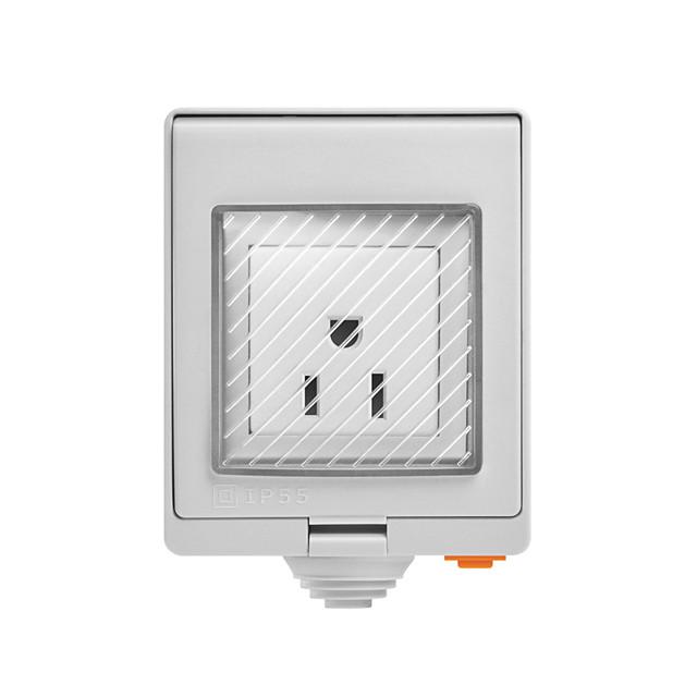SONOFF S55 TPF-DE Wi-Fi Waterproof Smart Socket - US PLUG