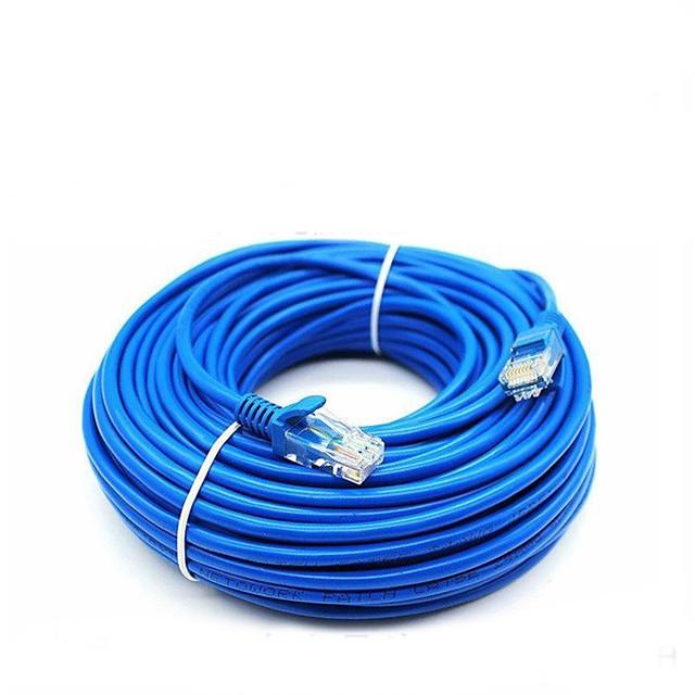 50 Meters RJ-45 Blue Ethernet Internet LAN CAT5e Network Cable for Computer Modem Router