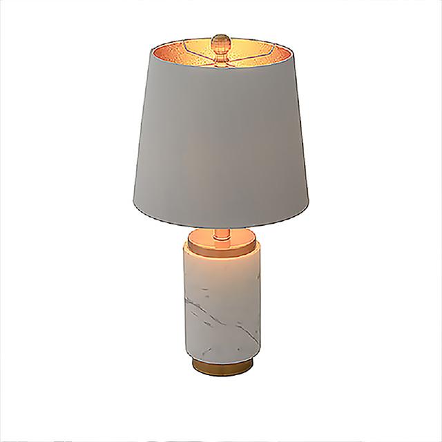 Bordslampa / Läslampa Ambient Lampor / Vackert Artistisk / Modernt Modernt Till Kontor Tyg 220V / 110V Vit