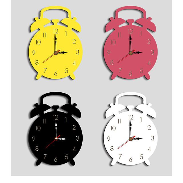 M.Spakrling Home decoration children's alarm clock mute cartoon acrylic creative wall clock