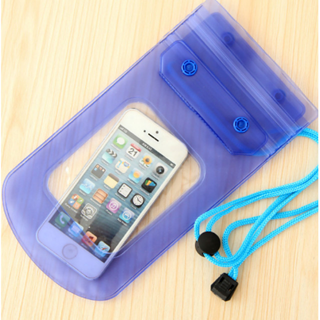 Cell Phone / Waterproof Case / Pouch / Bag Plastic Portable / Camping & Hiking Solid Colored