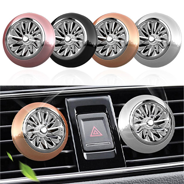 1pcs Car Air Freshener Perfume Mini Fan Cute Auto Air Vent Clip Outlet fragrance smell force InteriorAuto Accessory Car-styling