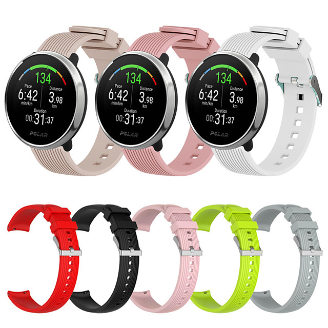 Sport Silicone Watch Band for Polar Ignite Replaceable Bracelet Wrist Strap Wristband