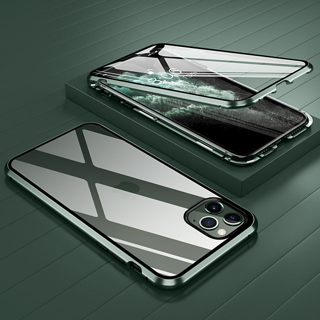 Case For Apple iPhone 12 / iPhone 12 Mini / iPhone 12 Pro Max Shockproof / Transparent Full Body Cases Transparent Tempered Glass