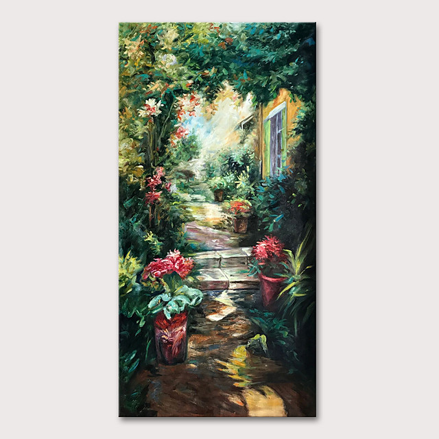 Oil Painting Hand Painted - Famous Landscape Classic Traditional Rolled Canvas