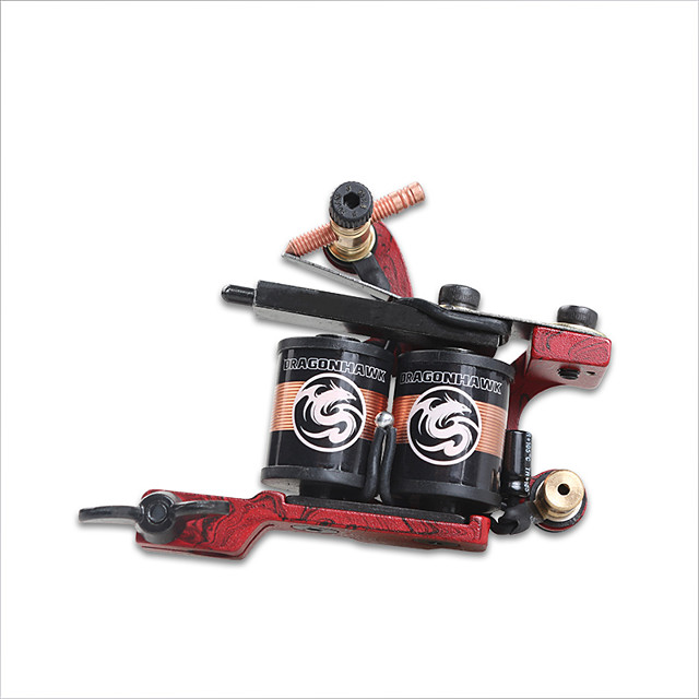 Professional Tattoo Machine - Coil Tattoo Machine Professional High quality, formaldehyde free Cast Iron Handmade Stamping