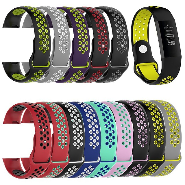 Watch Band for Fitbit Charge 4 Fitbit Sport Band Silicone Wrist Strap