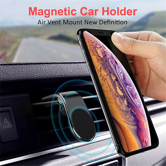 Air Vent Magnetic Car Phone Holder for iPhone Samsung Huawei Xiaomi OnePlus