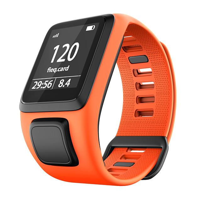 Watch Band for TomTom Adventurer / TomTom Golfer 2 / TomTom Spark 3 TomTom Sport Band Silicone Wrist Strap