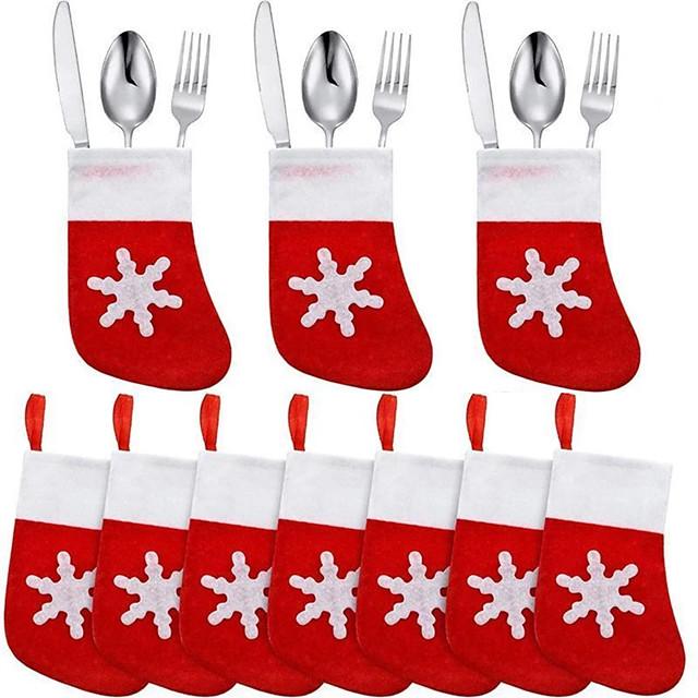 Christmas Storage / Christmas Ornaments / Christmas Stockings Non-woven Cube / Mini Party / Novelty Christmas Decoration