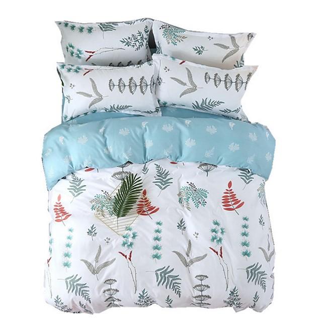 Duvet Cover Sets Floral / Botanical Polyester / Polyamide Printed 1 PieceBedding Sets