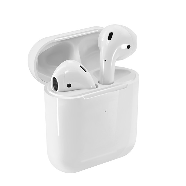 i9000 TWS True Wireless Earbuds Dual Drivers Stereo Bluetooth 5.0 Headphone Pop Up Window Touch Control Earphone for iOS with Microphone Hands Free