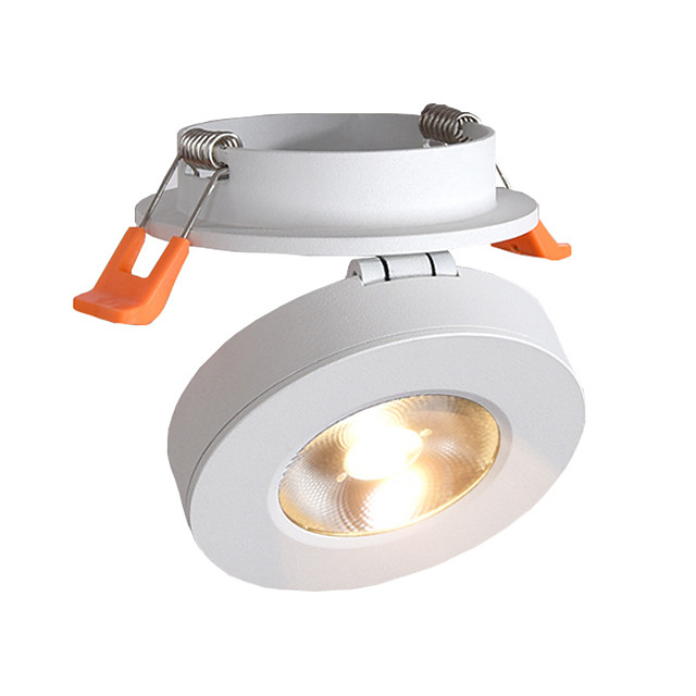 LED Spotlights COB 10W Embedded Ceiling Lights Clothing Store Background Wall Ceiling Lights