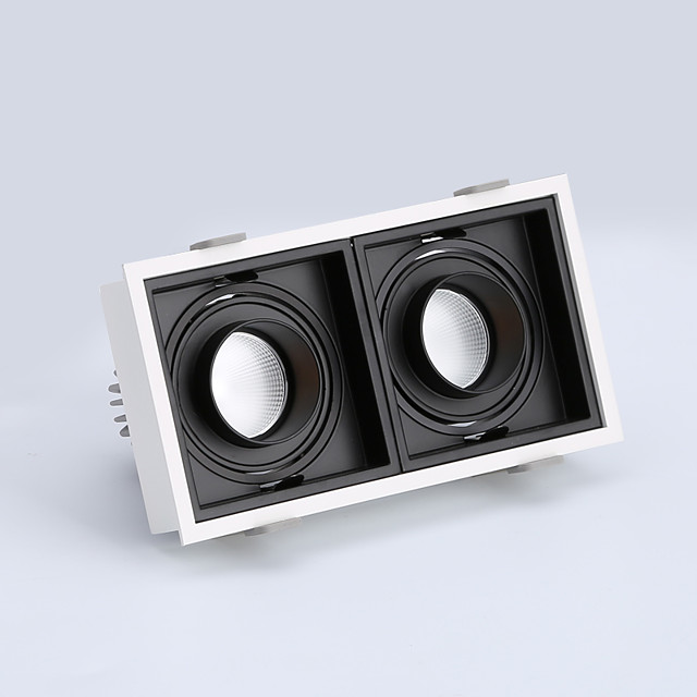 2-Light 10.8 cm Flush Mount Spot Light Aluminum Geometrical Modern 110-120V / 220-240V