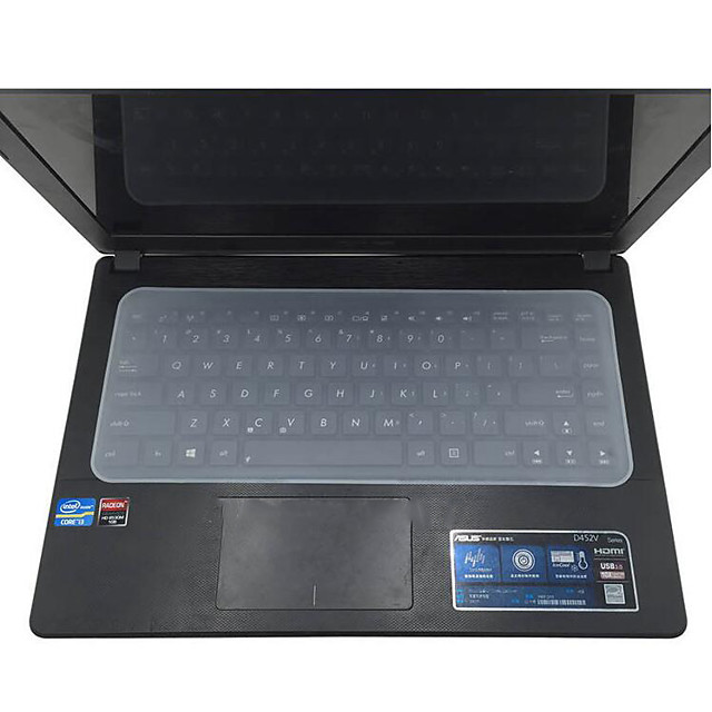 Waterproof Laptop Keyboard Protective Film  Laptop Keyboard Cover 14 Notebook Keyboard Cover Dustproof Film Silicone