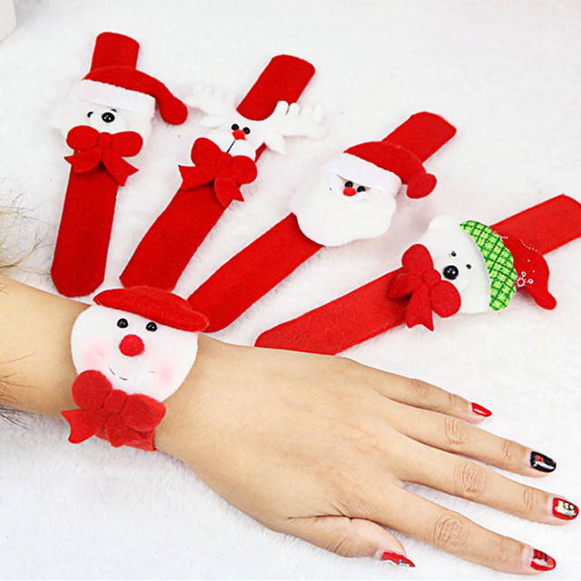 Ornaments Christmas Rectangular Cartoon / Unlit / Party Christmas Decoration