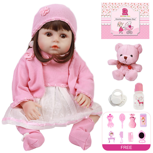 Reborn Doll Baby Girl 18 inch Full Body Silicone - Kids / Teen Kid's Girls' Toy Gift