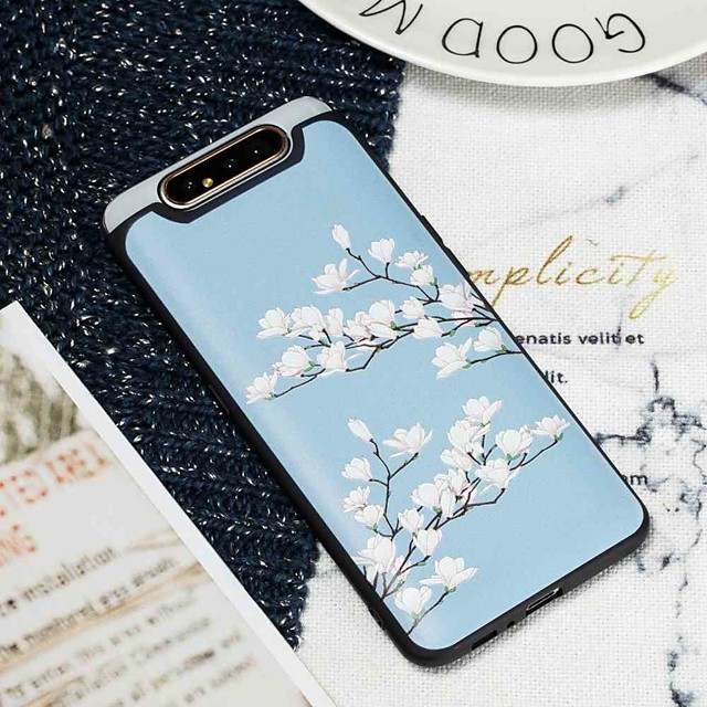 Case For Samsung Galaxy S9 / S9 Plus / S8 Plus Frosted / Pattern Back Cover Flower TPU