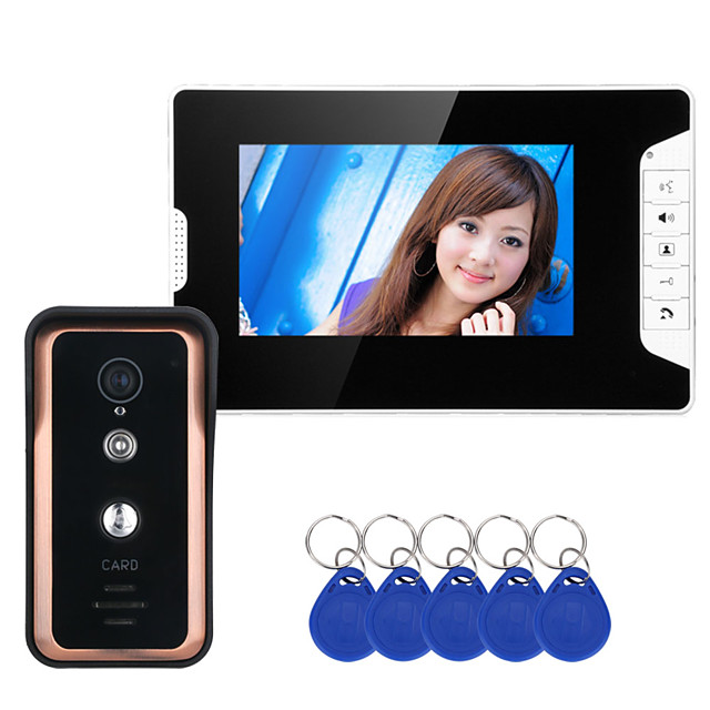 MOUNTAINONE SY813FKID11 Wired & Wireless Built in out Speaker 7 inch Hands-free One to One video doorphone