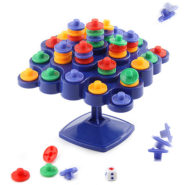Board Game Stacking Game Plastics Balance Kid's Adults' Unisex Boys' Girls' Toys Gifts