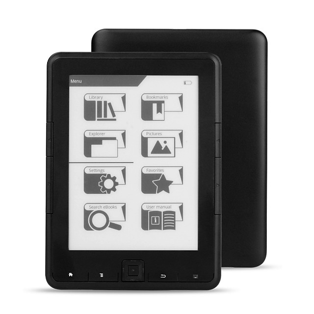 LITBest 4G/8G/16G 6 inch ebook reader e-ink 6 inch resolution 800x600 4 e Book Reader E-ink Ereader