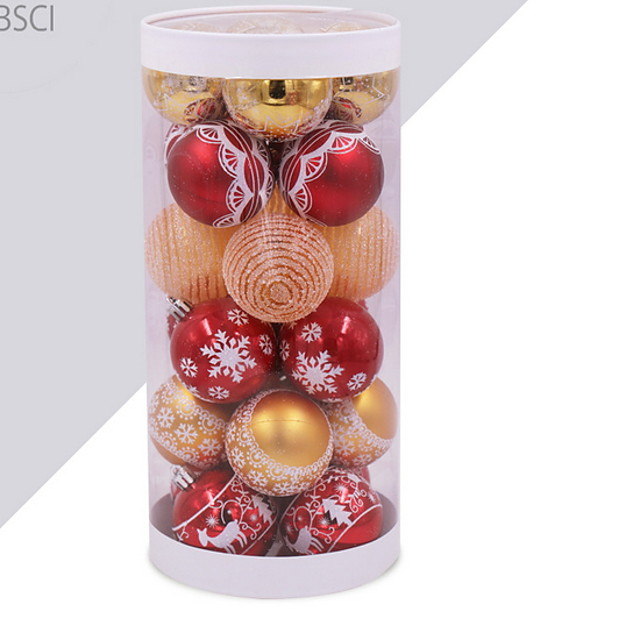 Christmas Ornaments Holiday Plastic Mini Cartoon Christmas Decoration