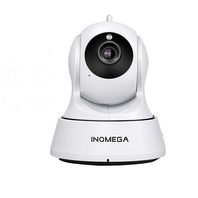 INQMEGA Cloud 1080P 2.0MP PTZ IP Camera Wireless Auto Tracking Home Security Surveillance Camera 3.6mm Lens Smart Wifi Camera Motion Detection Two Way Audio Night Vision Phone App Monitoring