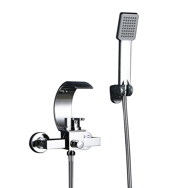 Küvet Muslukları - Çağdaş Krom Seramik Vana Bath Shower Mixer Taps