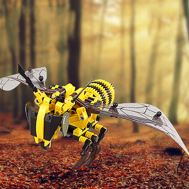 Building Blocks 400-800 pcs Bee compatible ABS+PC Legoing Simulation All Toy Gift / Kid's
