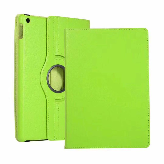 Case For Apple iPad Air / iPad 4/3/2 / iPad Mini 3/2/1 360° Rotation / Shockproof / Auto Sleep / Wake Up Full Body Cases Solid Colored Hard PU Leather / iPad Pro 10.5 / iPad (2017)