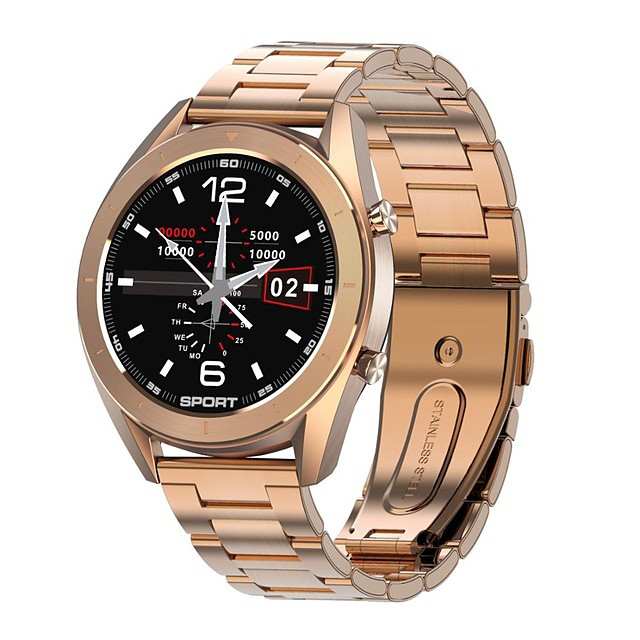 M99 Stainless Steel Smartwatch Bluetooth Fitness Tracker Support ECG/ Heart Rate Monitor for Samsung/ Iphone/ Android Phones