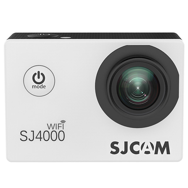 SJCAM SJ4000WiFi 1080p Boot automatic recording Car DVR 150 Degree Wide Angle CMOS 2 inch LCD Dash Cam with WIFI / motion detection / Loop recording No Car Recorder / 2.0 / Built-in microphone