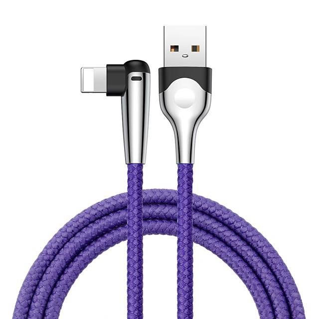 Baseus MVP Mobile game Cable USB For lightning 1.5A 2M Black