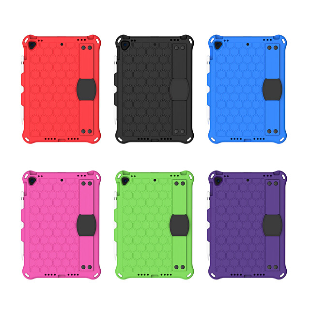 Case For Apple iPad 10.2''(2019) / iPad Pro 10.5 / iPhone SE(2020) Shockproof Back Cover Solid Colored PC / EVA