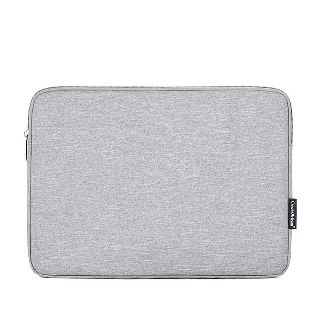 13.3 Inch Laptop / 14 Inch Laptop / 15.6 Inch Laptop Sleeve Polyester Solid Colored for Men for Women Unisex Waterpoof Shock Proof