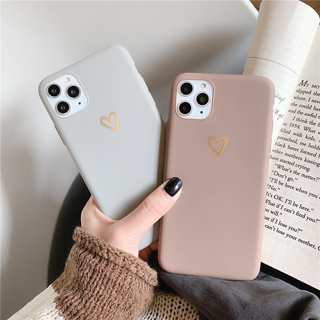 Case For Apple iPhone 11 / iPhone XR / iPhone 11 Pro Pattern Back Cover Heart TPU