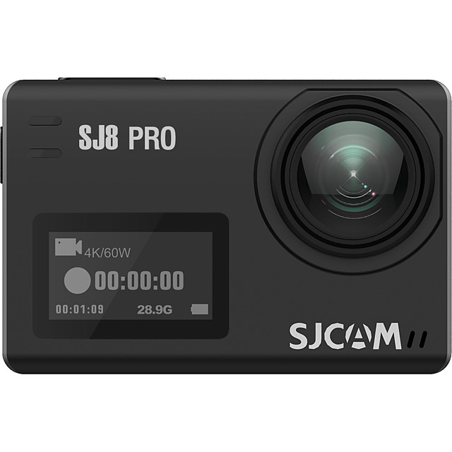 SJCAM SJ8PRO 2160P Fisheye correction / Boot automatic recording Car DVR 170 Degree Wide Angle CMOS 2.33 inch IPS Dash Cam with WIFI / Loop recording / Built-in microphone No Car Recorder