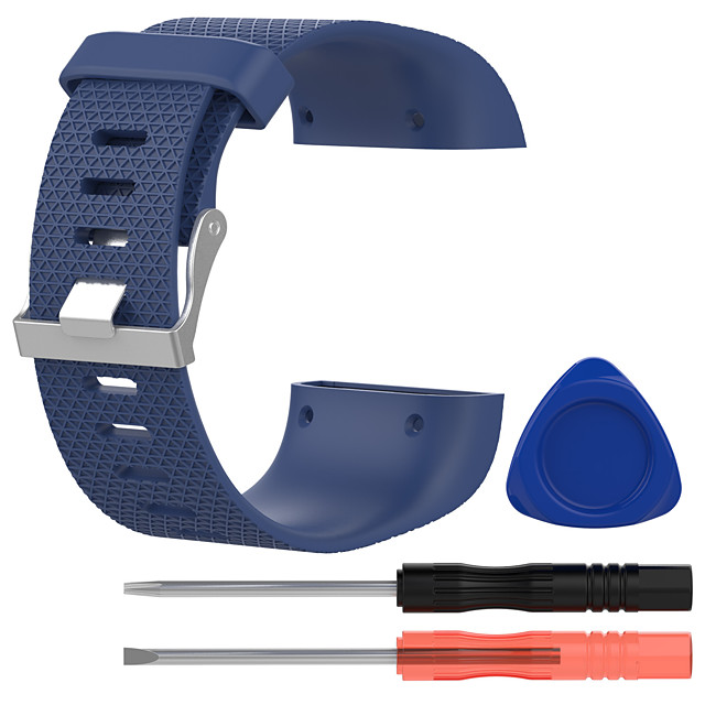 Watch Band for Fitbit Surge Fitbit Classic Buckle Silicone Wrist Strap
