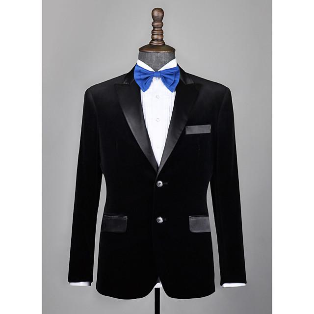 Black velvet custom tuxedo