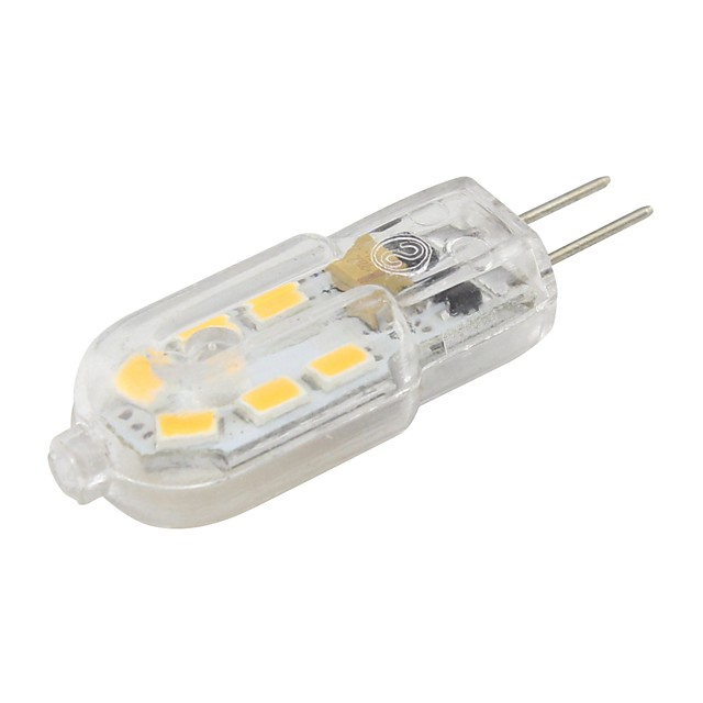 Lampada LED G4 Lamp Clear AC 12V 2W SMD2835 LED Bulb G4 mini Ultra Bright Chandelier Lights *1