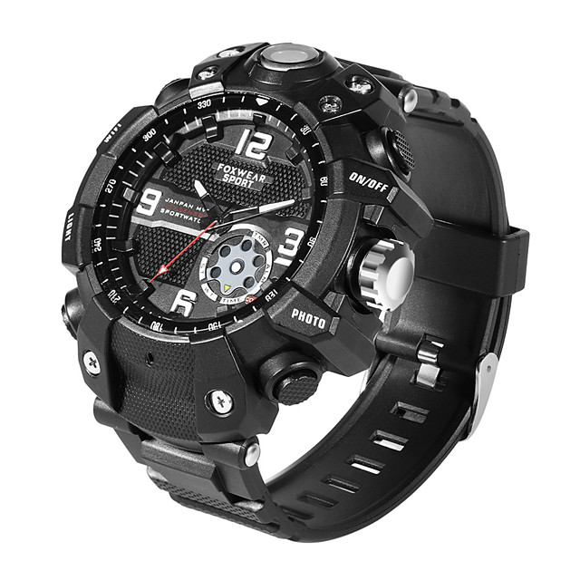 New Fashion Outdoor Sports Smart Watch LED Lighting Sports Camera 2.6K High Definition Picture APP View Traffic Recorder One Key Share Super IP68 Waterproof